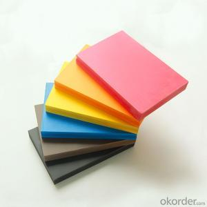Colorful PVC Foam Board for Wall Partition and Ceiling
