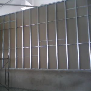 Galvanized Steel Drywall Stud and Track Steel Frame Metal Frame