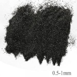 Calcined anthracite with fixed carbon from 78 to 95
