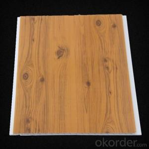 Wood Color PVC Ceiling Brown PVC Ceiling White PVC Panel