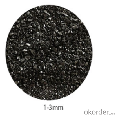 Calcined anthracite of 90 grade fixed carbon