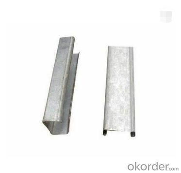 Cold Rolled Steel Galvanized Profiles Drywall C Channel steel sizes
