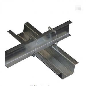 Galvanized metal steel stud and tracks for partition drywall and ceiling