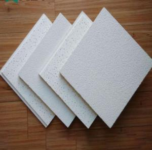 Sound Absorption Mineral Fiber False Ceiling