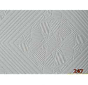 Gypsum Ceiling for Suspending-White PVC Facing