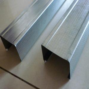 Galvanized stud for gypsum drywall metal stud and track
