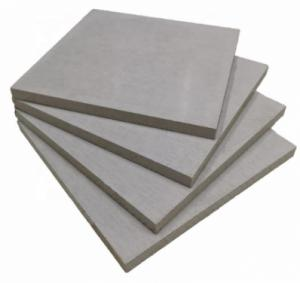 Decorative material top quality fiber cement board price