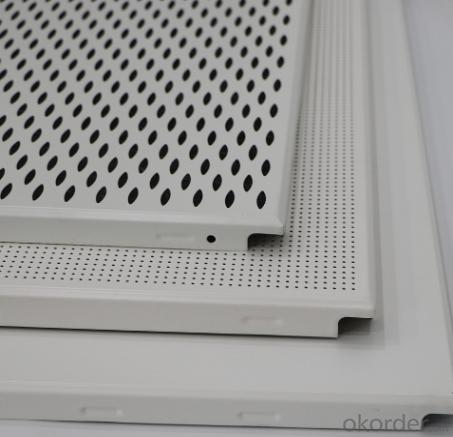 600x600 Clip-in Grid False Drop Aluminum Ceiling Panel