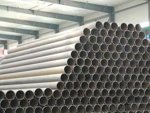 Quality Q345B straight seam pipe submerged arc welding pipe large diameter Q235 straight seam pipe