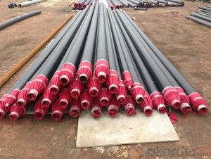 Polyurethane foam insulation steel pipe steel sheath steel insulation steel pipe