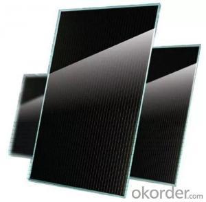 Cadmium telluride thin film power glass solar cell