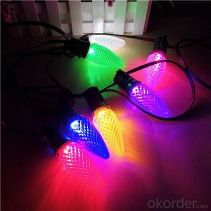 China Wholesale C9 SMD LED Christmas Light bulbs for Outdoor