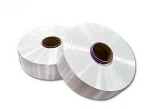 FDY polyester filament yarn raw white semi-dull
