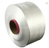 FDY polyester filament yarn raw white semi-dull FDY bright trilobal polyester yarn
