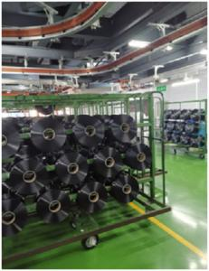 Polyester yarn FDY Polyester twisted yarn for weaving and sewing fdy spinning