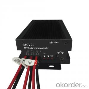 Intelligent 12V 24V Inverter Charger MPPT Solar Battery Charger Controller with Temperature sensor