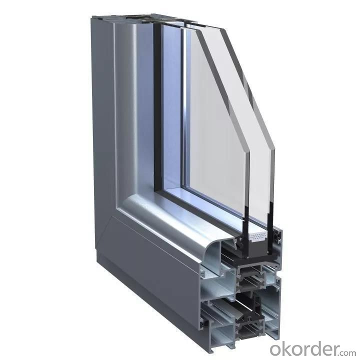 60mm German bran upvc profiles of  edelweiss Series upvc window profiles for India