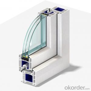 German UPVC door and window profiles in best quality