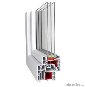 Energy efficient  upvc window profiles of  German Brand
