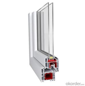 Europe standard German quality high-quality 60mm upvc window profiles