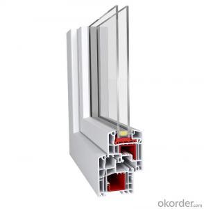 upvc door profiles of Europe standard German quality high-quality