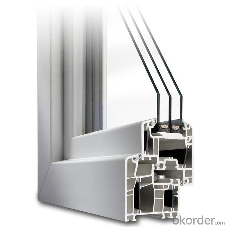 German high qulity upvc window and door profiles of good chices
