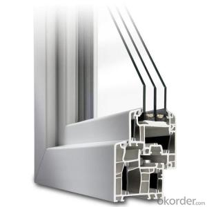 uPVC German Window Profiles for L108AD Sliding Window
