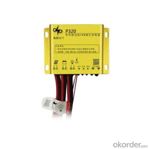 3V Lithium Battery PWM Solar Charge Controller for 20W Solar Street Light