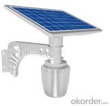 18W Golden Apple LED Waterproof Street Pathway Solar Power Garden Light