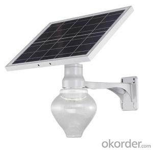 Durable SMD OEM Energy Saving Aluminum Apple Solar LED Street Light
