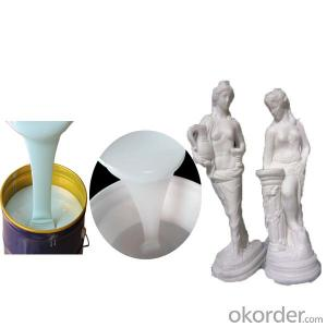 Liquid silicone rubber for gypsum statue casting