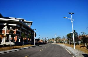Solar Street Light with Lithium Battery Certificated