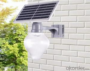hot sale 2 years warranty 30W 50W sensor light apple solar light