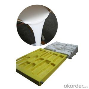 Silicone rubber for gypsum molds making