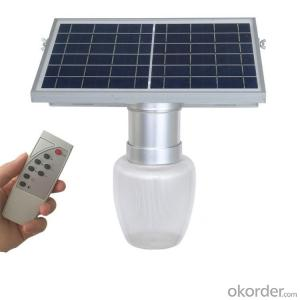 New Design Golden Grey Apple Model LED Solar Garden Light