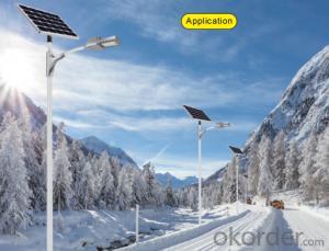 Lithium battery solar street light  LVB2