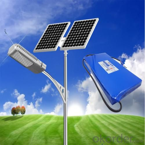 All in One 50W Solar Street Light Energy Saved
