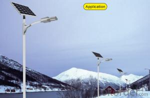 Lithium battery solar street light LVB 3