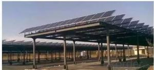 PV Bus Station Thin Film Solar Panel high efficiency