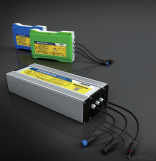 Graphene-based Lithium battery storage & control system (solar street light only)