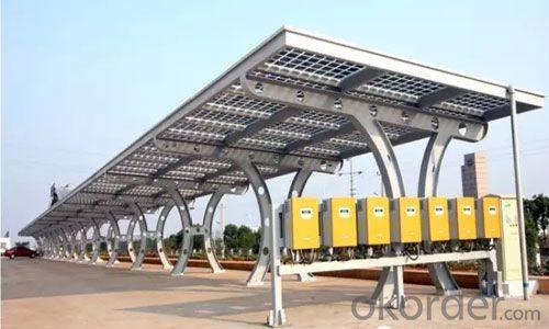Car Shade Station Solar Panel PV Module Station