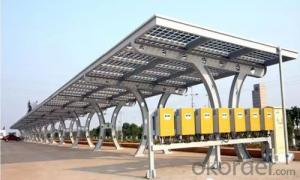Car Shade Station Solar Panel PV Module Station