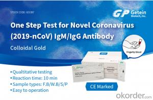 CoVID-19 Diagnostic Test Kits (Colloid Gold)