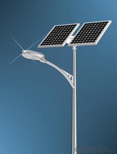 8M Pole Height 90W LED Solar Street Light High Power