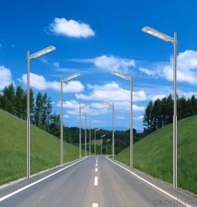 8M Pole Height 90W LED Solar Street Light High Power