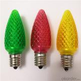 China Manufacturer Export C7 C9 LED Christmas Light Bulb