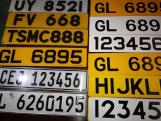 Car License Plate Grade Reflective Sheeting