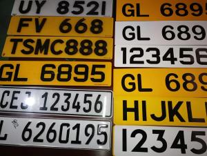Car License Plate Grade Reflective Sheeting
