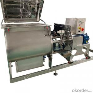 TPS Series Single shaft paddle mixing machine