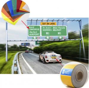 Car License Plate Grade Reflective Sheeting for Brazil, Russia, Africa